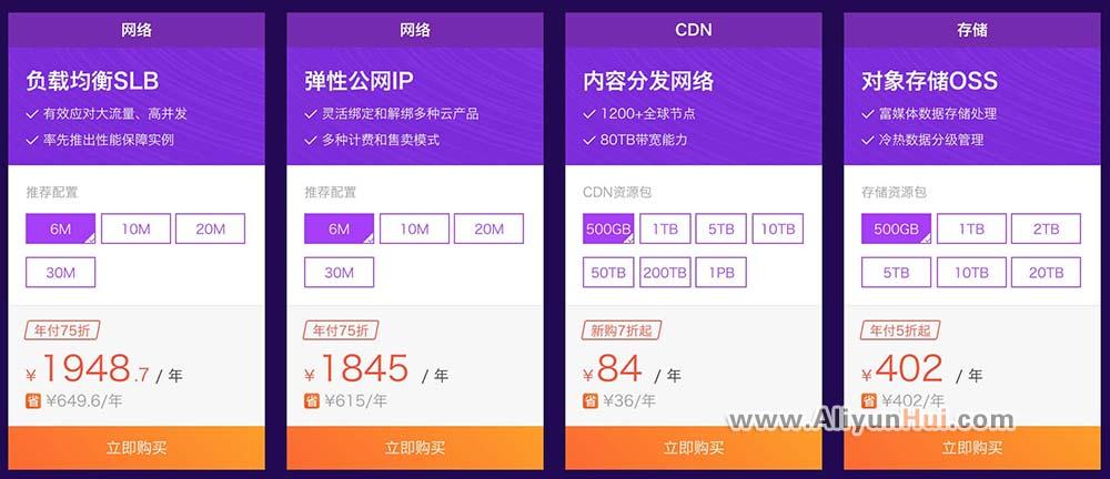 2018阿里云采购季CDN内容分发网络5折优惠