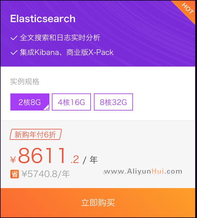 Elasticsearch8611.2元/年